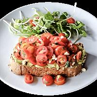 Avocado & Tomato on Toast