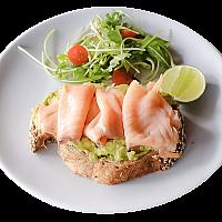 Avocado & Salmon on Toast