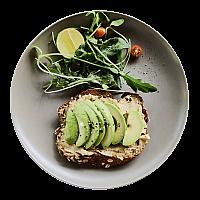 Hummus & Avocado on Toast