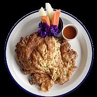 Thai Omelette with Pork or Shrimp