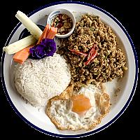 Kua Kling w/Steamed Rice