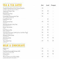 Black Tea Latte