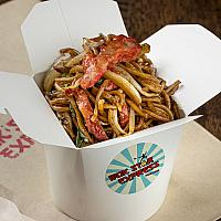 N6. BBQ RED PORK CHOW MEIN (FAMILY)