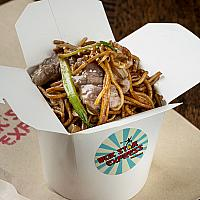 N8. BEEF CHOW MEIN (FAMILY)