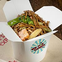 N10. VEGETABLE CHOW MEIN (FAMILY)