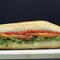 Chicken schnitzel bread