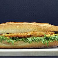Fish schnitzel bread