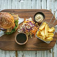 The Frenchie Burger