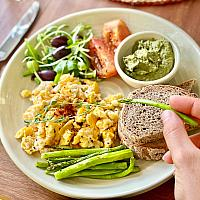 Brekkie Vegan Plate