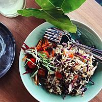 Burmese Laphet Salad