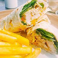 Piri Piri Chicken Wrap