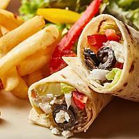 The Greek Chicken Wrap