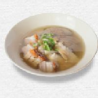 Boiled Chinese Pasta Square / ก๋วยจั๊บหมูกรอบ