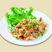 Wok-Fried Rice Noodle With Chicken / ก๋วยเตี๋ยวคั่วไก่