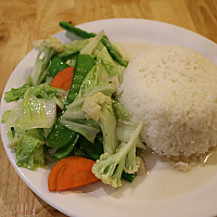 Mixed Vegetable with Rice