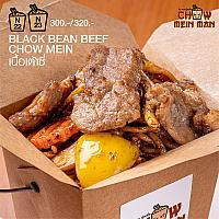 BLACK BEAN BEEF CHOW MEIN(SINGLE)