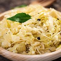 pickled cabbage ( Sauerkraut )