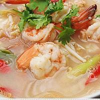 Tom Yam soup with Shrimp