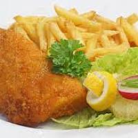 Cordon Bleu & French fries