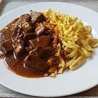 pork goulash & spätzle