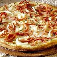 Pizza Bacon and Onion