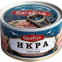 Икра трески Gold Fish 200грамм