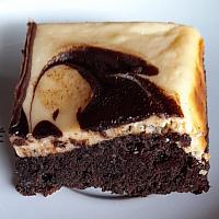 Brownie cheese creme