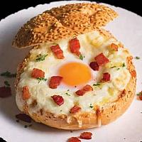 Egg Cheese Burger