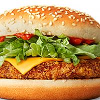 Cheese Burger Crispy Chicken