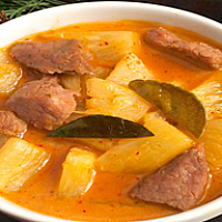Pineapple Curry Pork Or Chicken