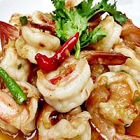 Fried Shrimp With Fresh Chili