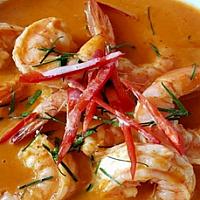 Panang Curry Shrimp