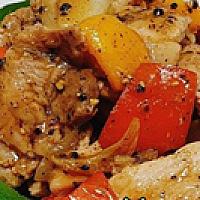 Stir-Fried Black Pepper sauce