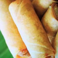 Spring rolls chicken