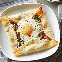 Egg,Ham & Cheese Crepe