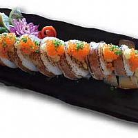 Whole Squid Sushi Roll