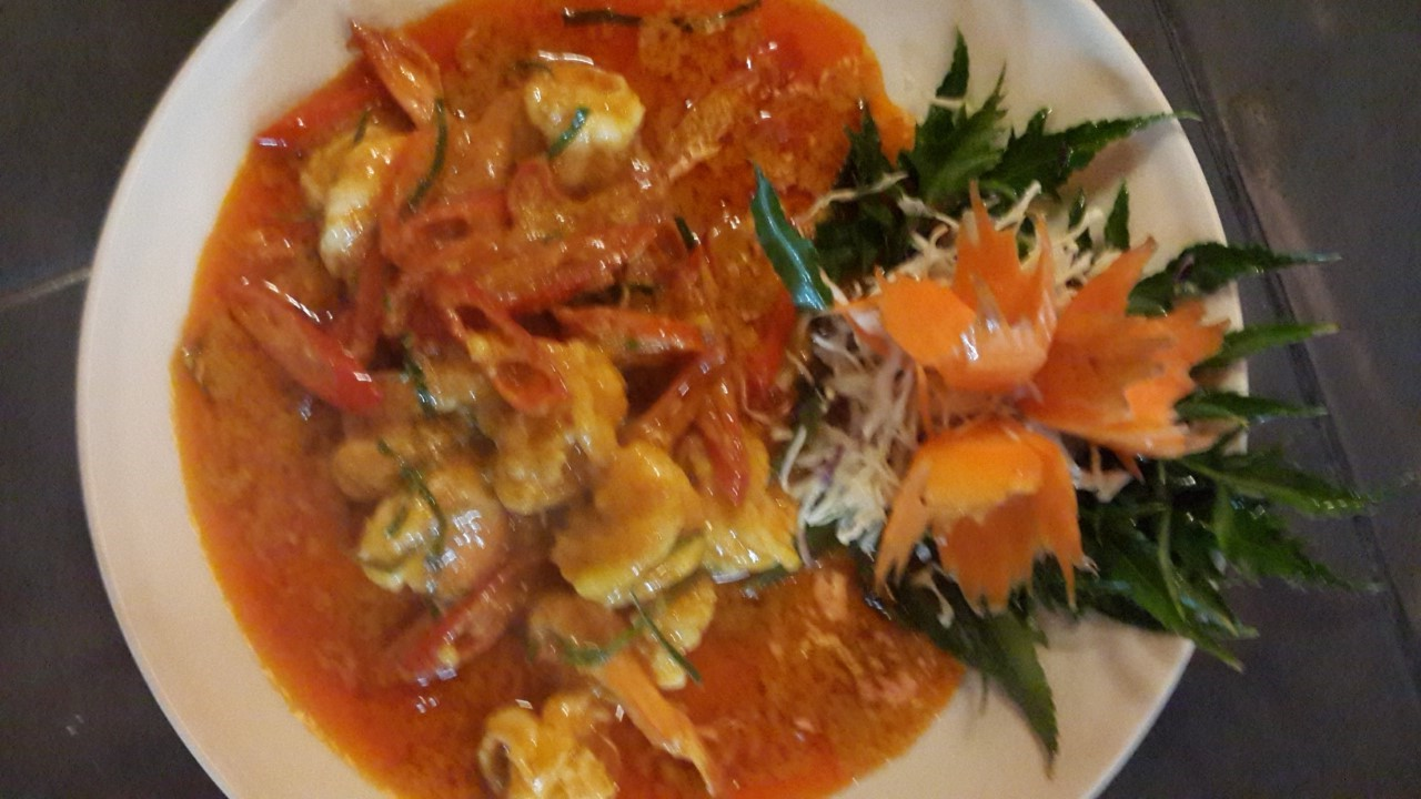 Paneang Curry with Chicken