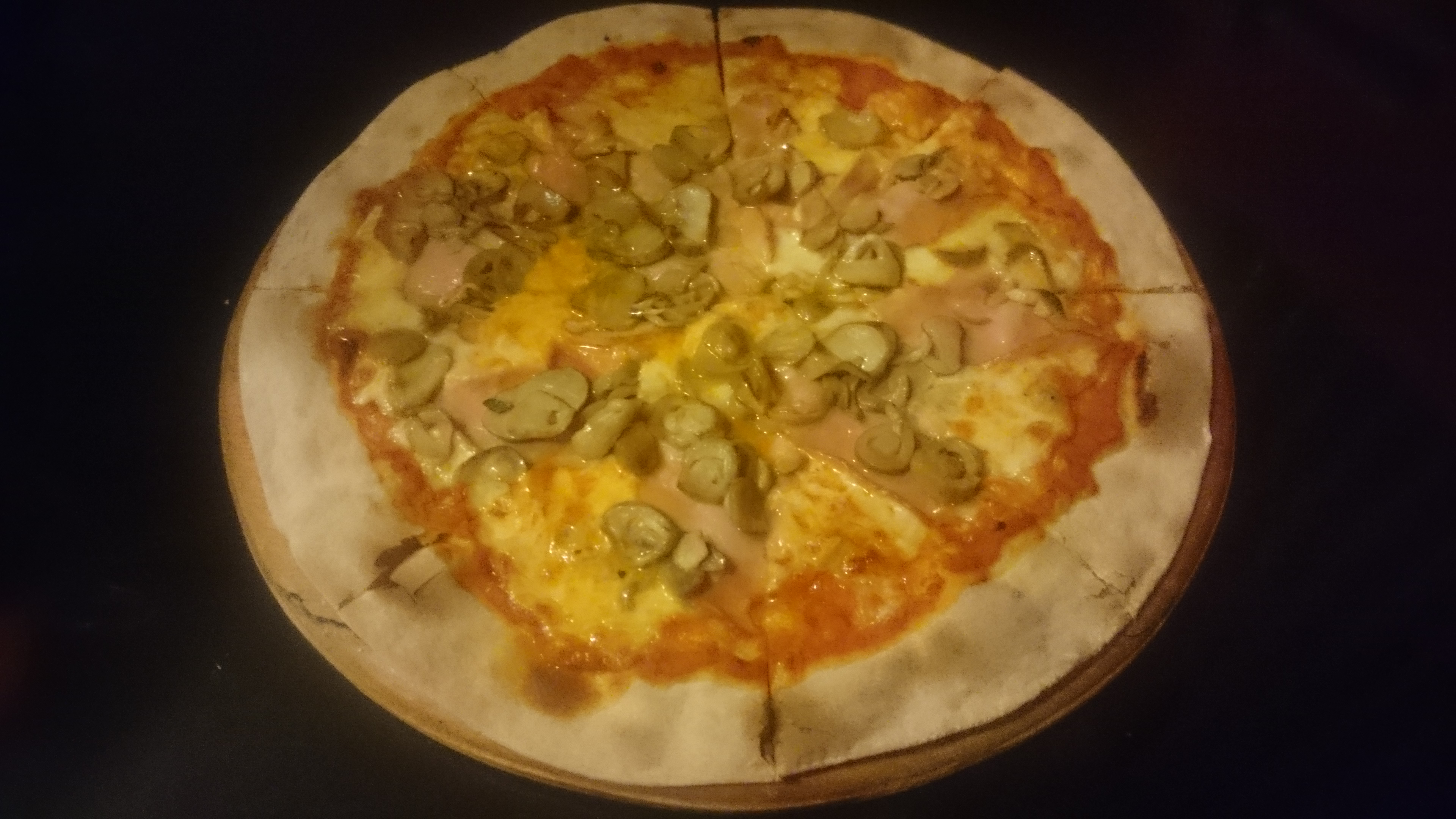 Pizza Ham Mushrooms