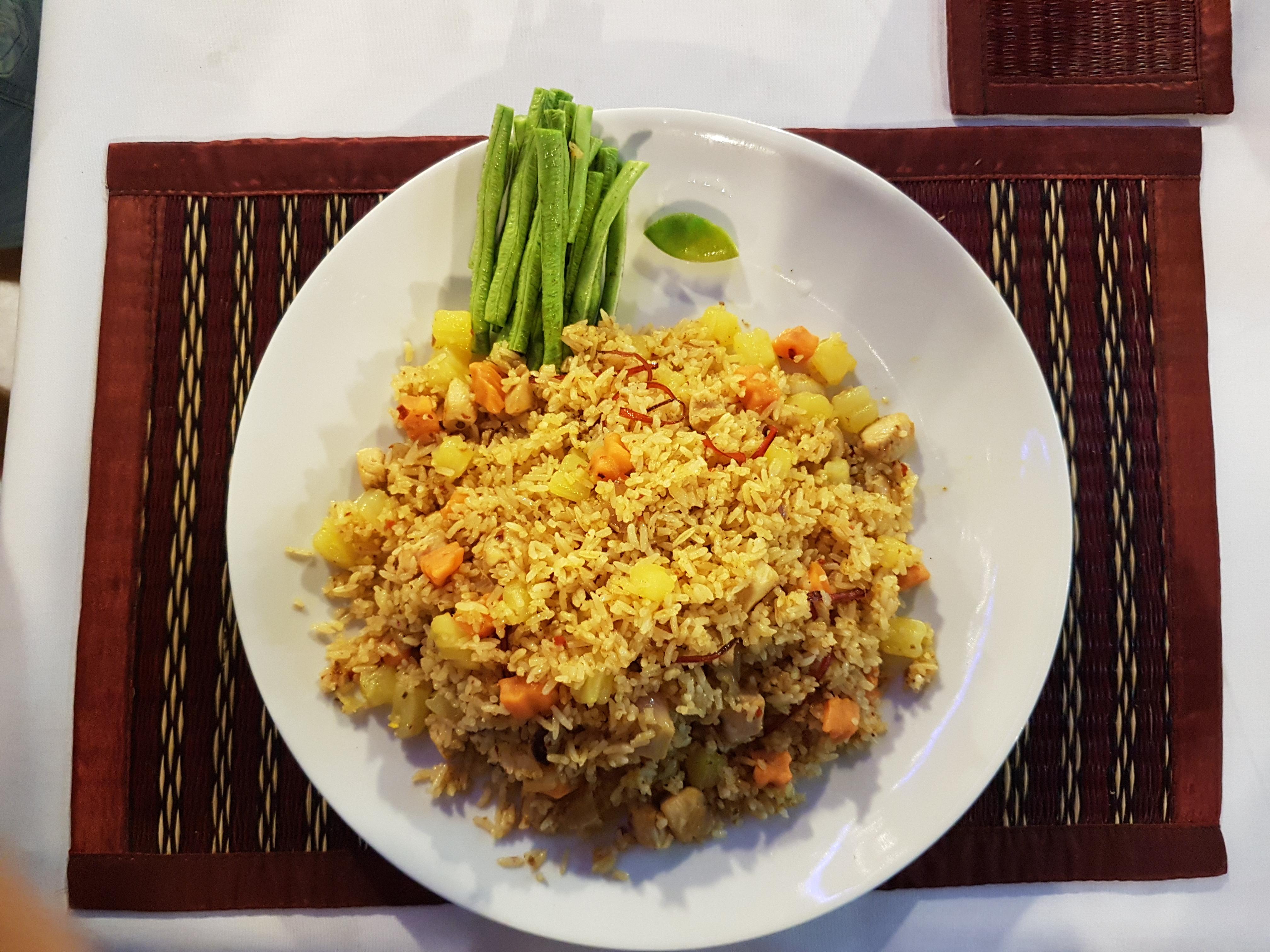 fried rice massaman