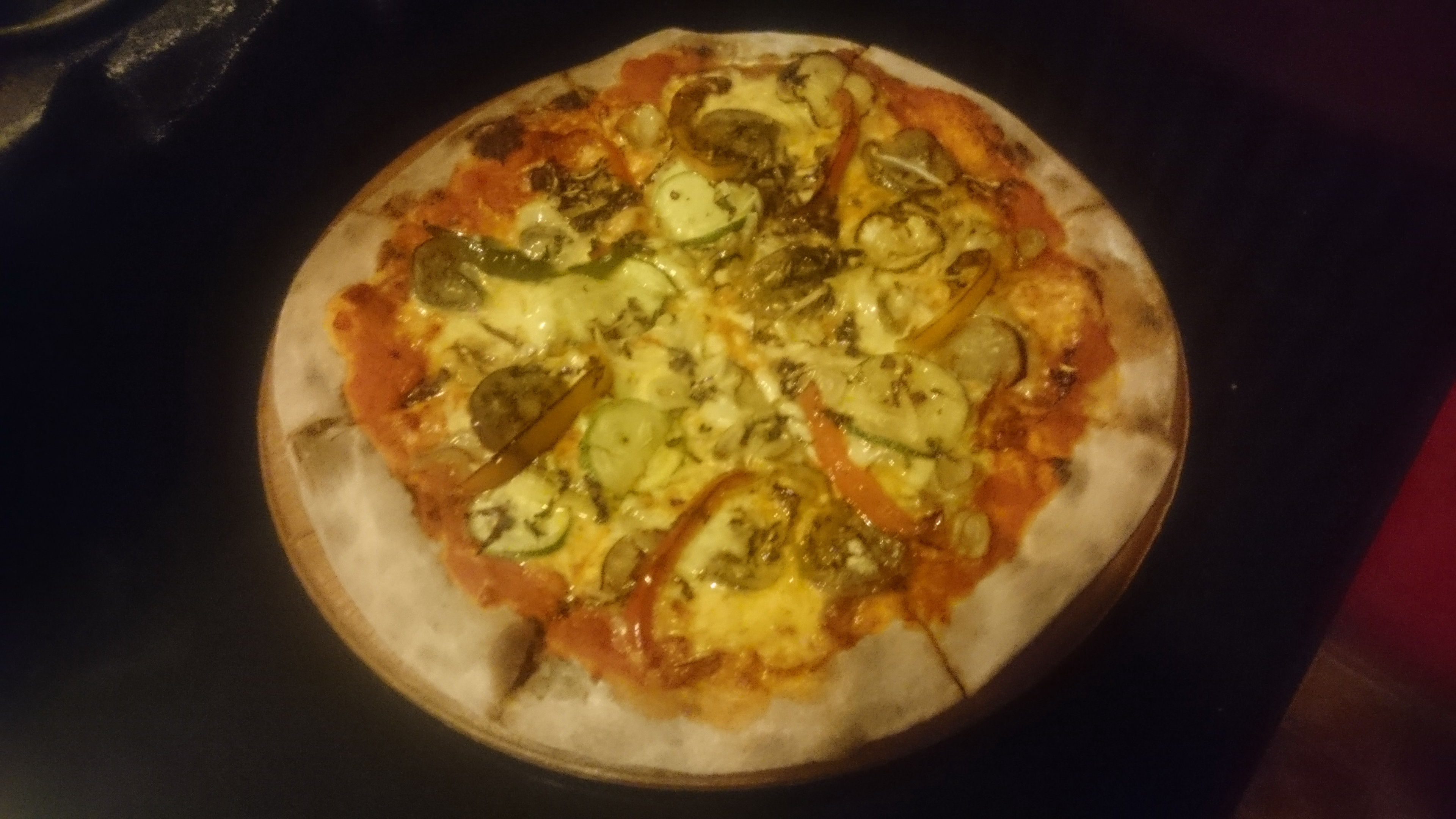 Pizza Contadina ( Vegetarian ).