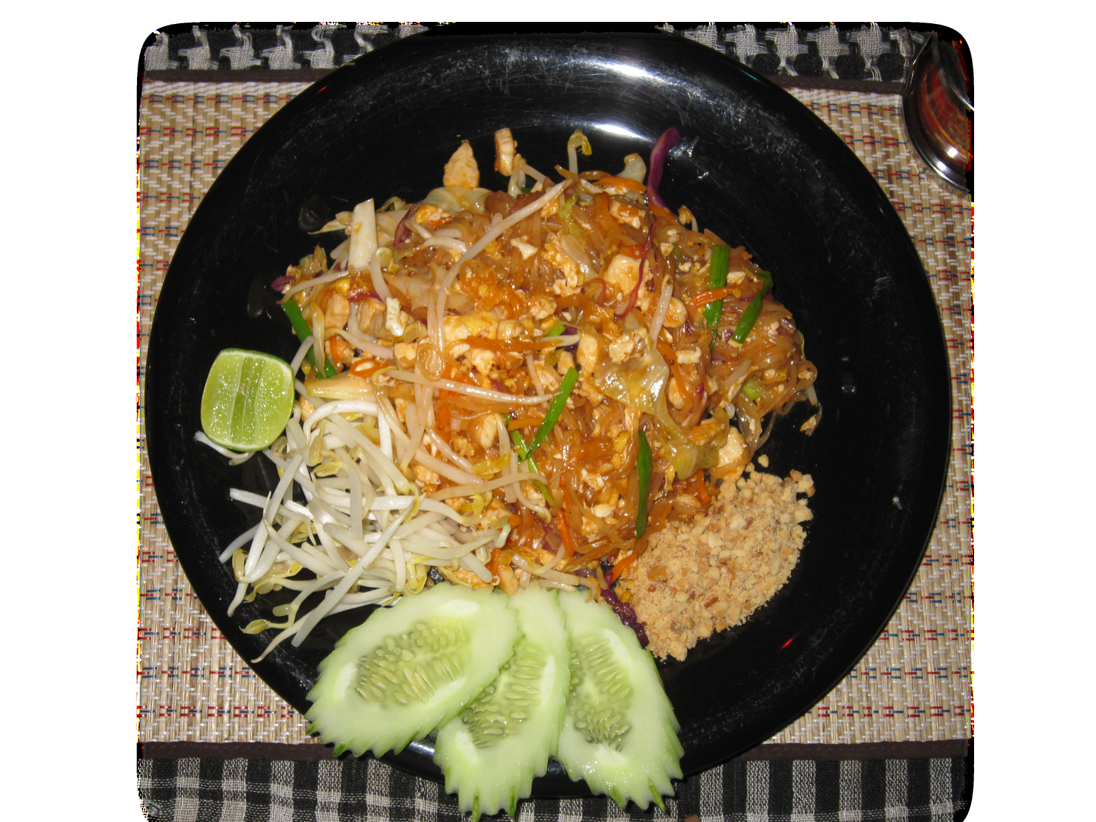 Pad Thai Pak (Fried Noodles with Vegetables)