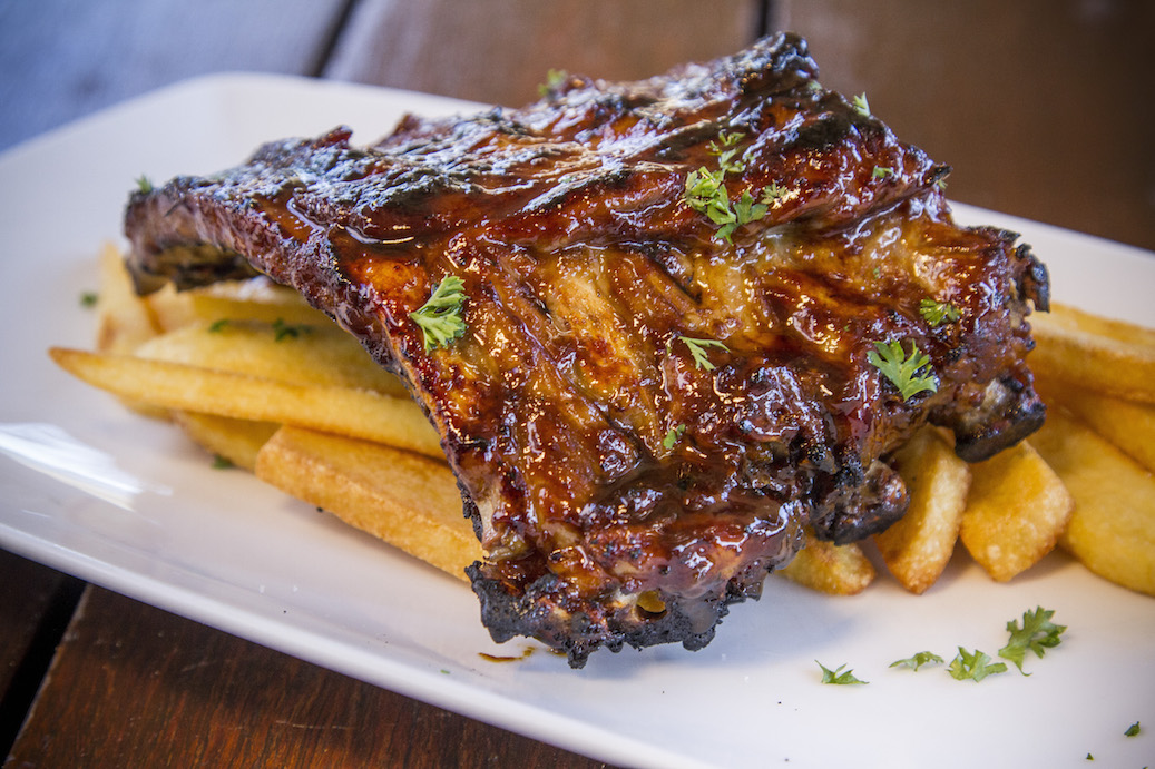 OUR FAMOUS BBQ RIBS