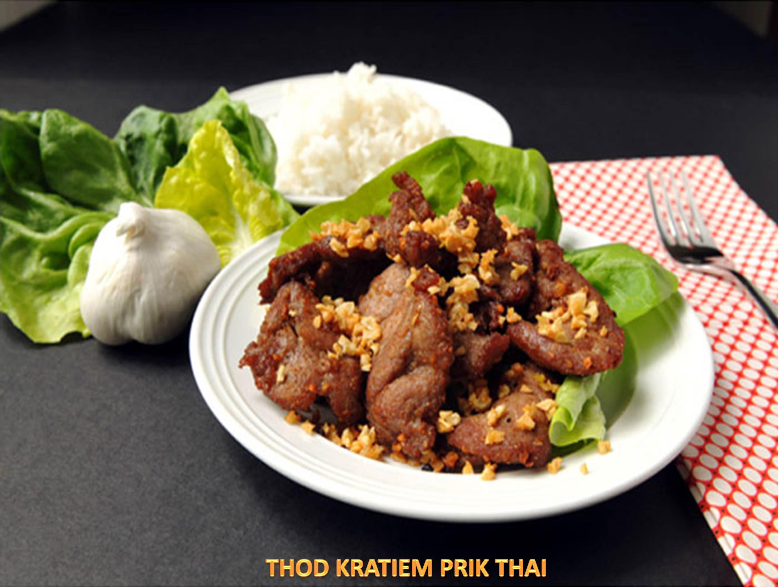 Thod Gratiem Prig Thai