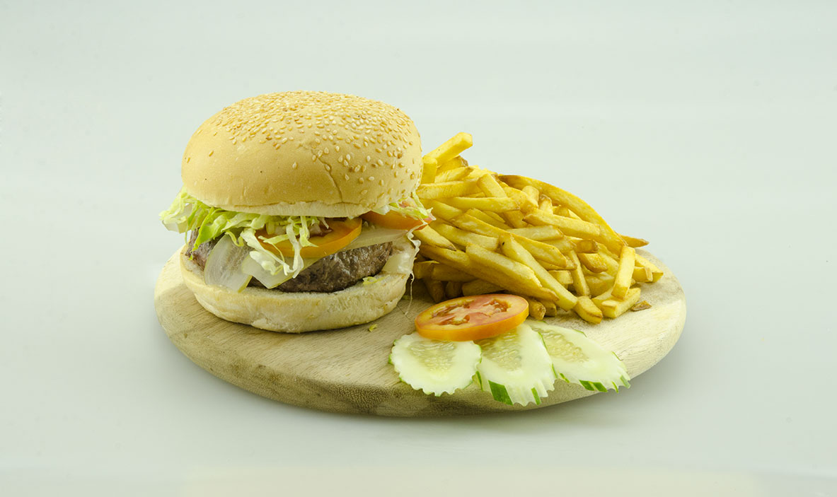 Deluxe Luxury Beef Burger