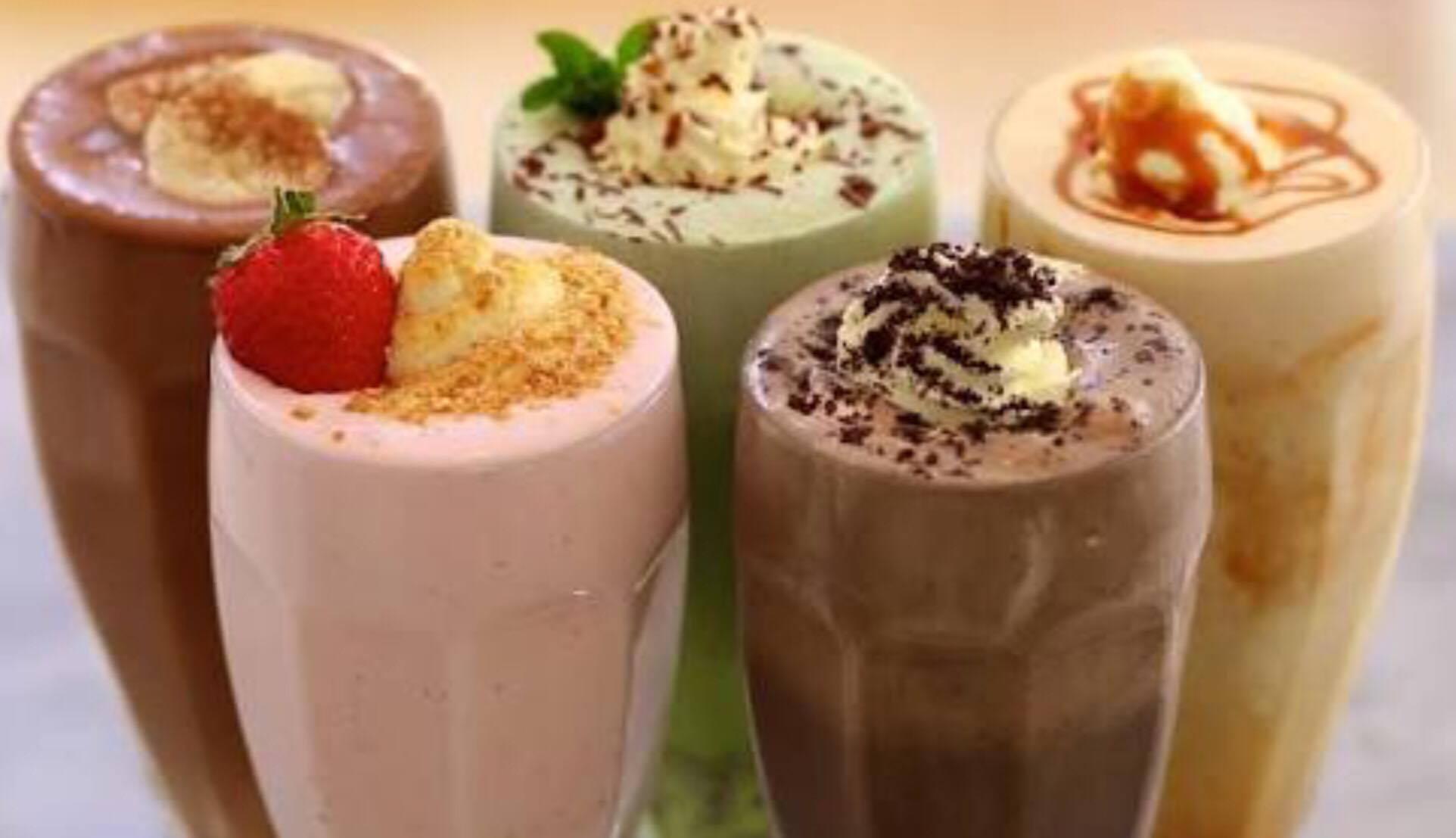 Lychee Yogurt Shake