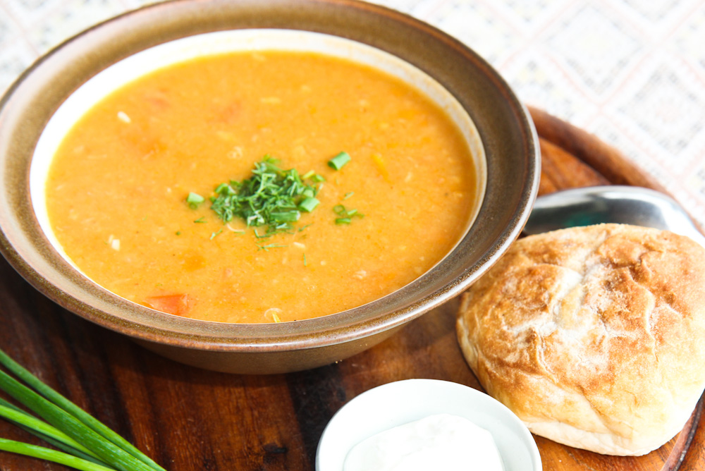 Soup Goulash Czech style