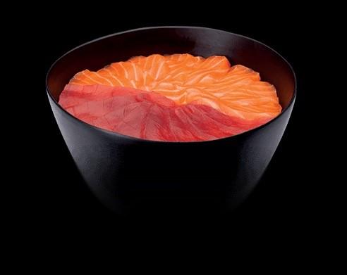 Chirashi salmon / tuna