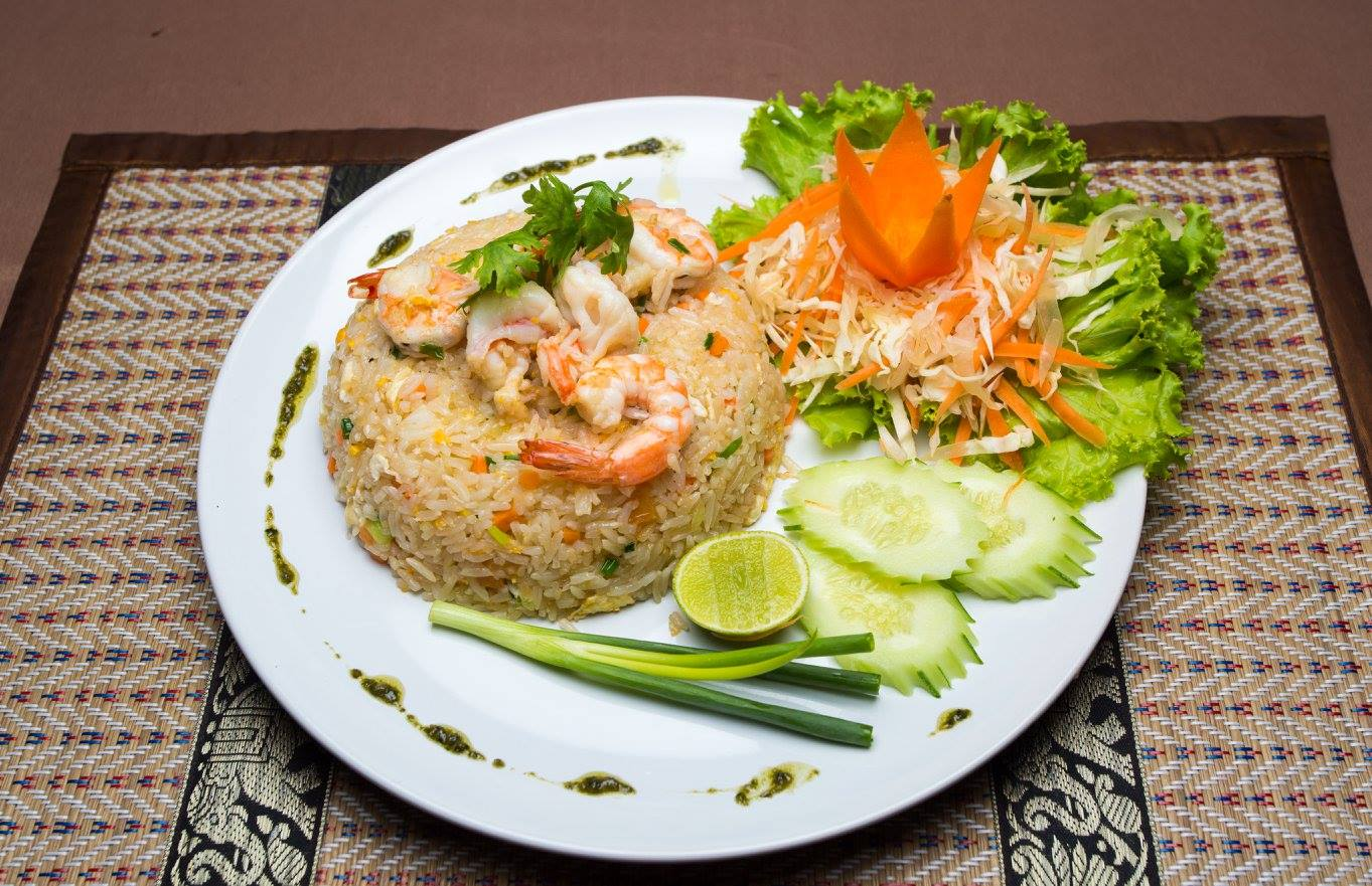 FRIED RICE chicken, pork or seafood