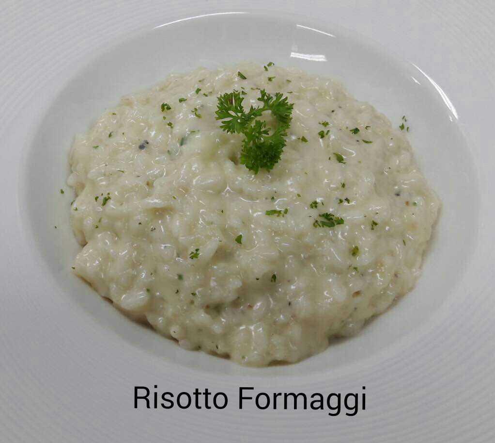 RISOTTO FORMAGGI (Code 31)