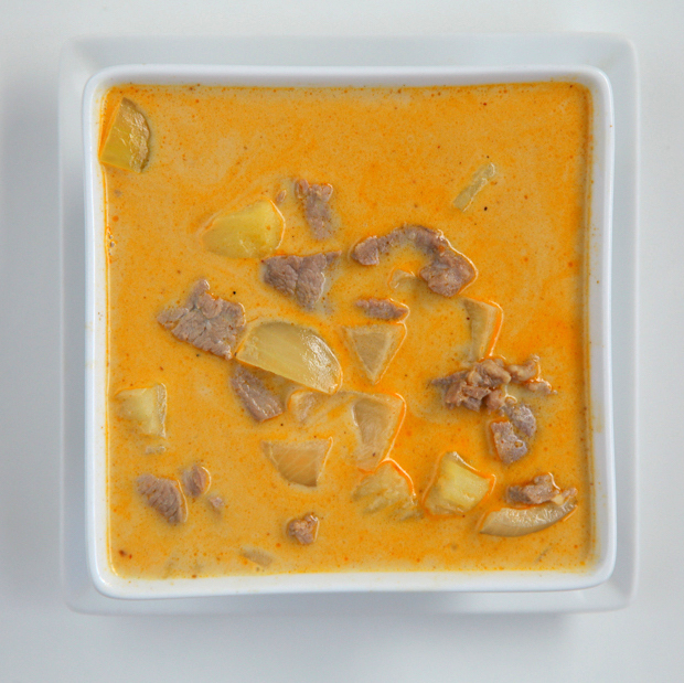 Massaman Curry - Served with rice